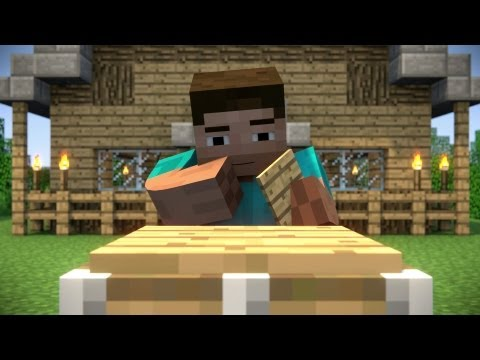 Piston Problems - A Minecraft Animation маекрафт видео маекрафт