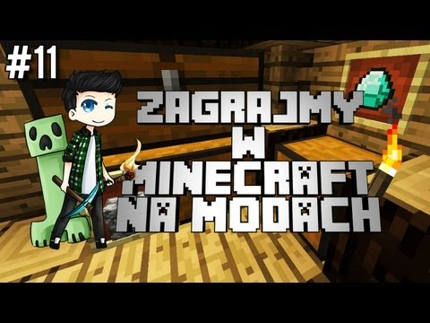 MINECRAFT na MODACH #11 - Domek LEVEL UP! маекрафт 11