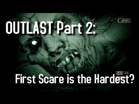 WHEAT plays Outlast - Part 2 - First Scare is the Hardest? смотреть outlast 12  миссия рома